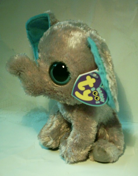 "Beanie Boos Plüschtier ""Peanut"" (Elefant), 15cm"