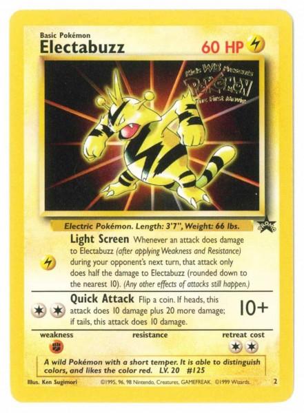 Electabuzz (Mewtwo Strikes Back) (Wizards Black Star Promos)