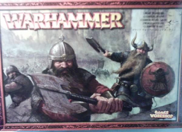 WARHAMMER Zwergenkrieger