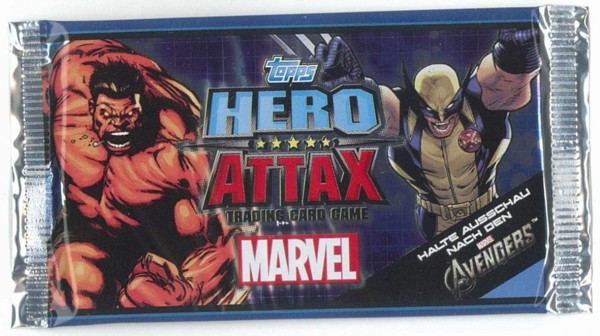 topps HERO ATTAX Marvel