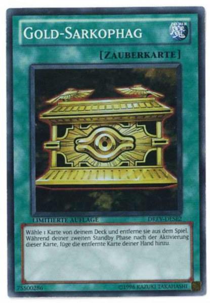 Gold-Sarkophag, DREV-DESE2, Yu-Gi-Oh!-Einzelkarte
