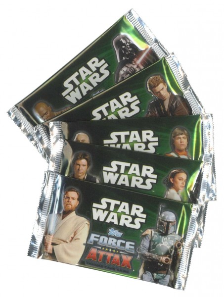 STAR WARS FORCE ATTAX Movie Booster, Serie 2
