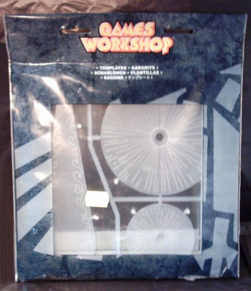 Universal Schablonen-Set (einfach) f. WARHAMMER + 40.000
