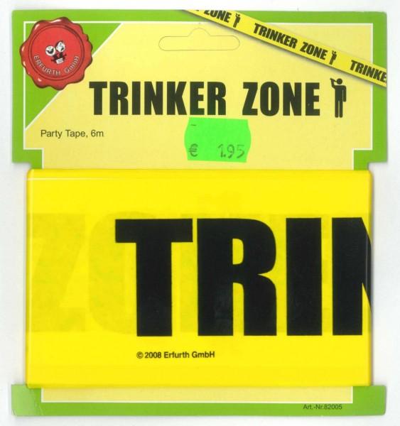 """Absperrband """"Trinker Zone"""""""