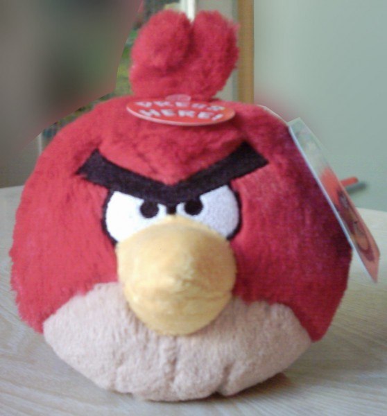 Angry Birds roter Vogel, Plüsch