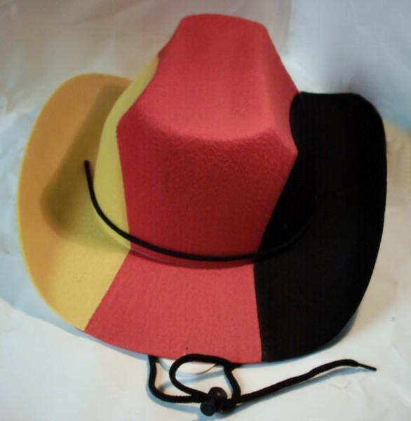 Deutschland Cowboy-Hut