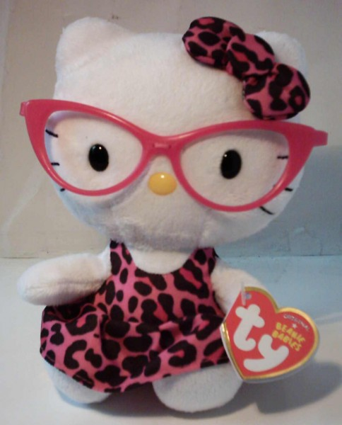 Plüsch Hello Kitty Fashionista, 14cm