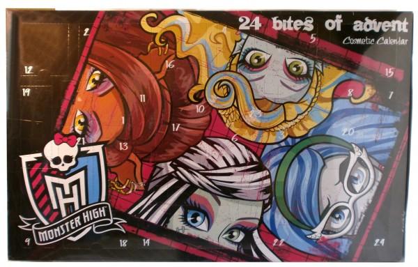 Monster High Adventskalender mit Schmink-Überraschungen