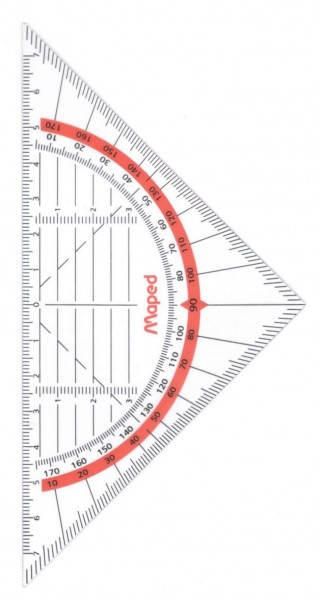 Geo-Dreieck Flex, 16cm