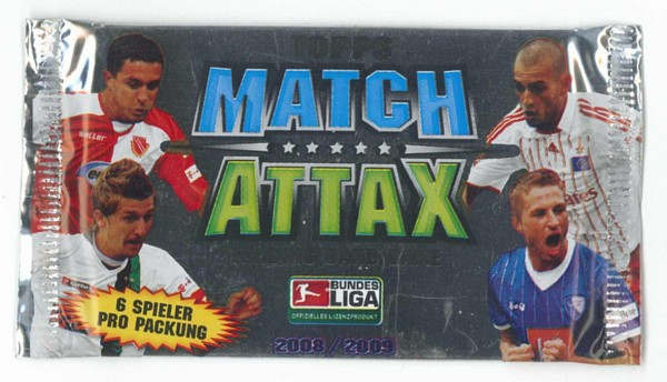 topps MATCH ATTAX 2008/2009