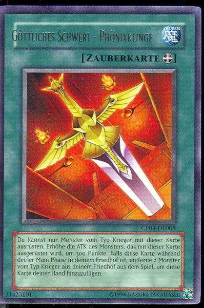 Göttliches Schwert-Phönixklinge, CP04-DE008, Yu-Gi-Oh!-Einzelkar