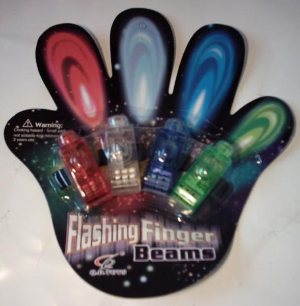 Flashing Beams, Fingerlampen