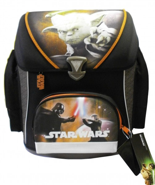 STAR WARS Ranzen-Set, 5tlg., Scooli