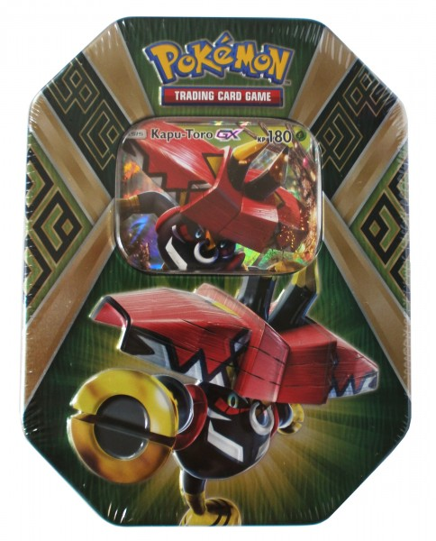 "Pokémon Tin-Box 66 ""Kapu-Toro GX"", deutsch"