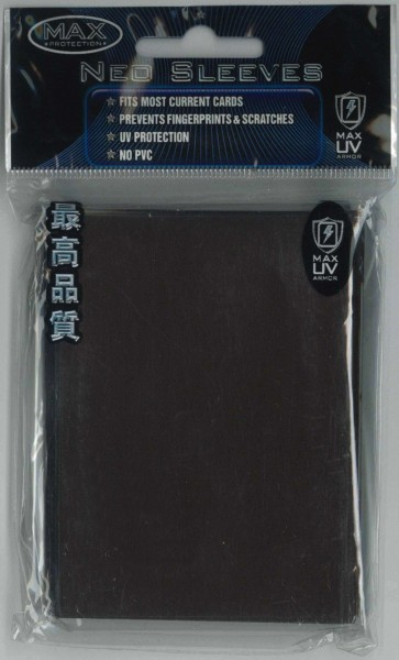 "Deck Protector Sleeves uni-""Chocolate"" MAX, Standard"