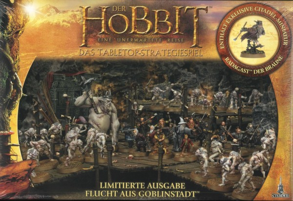"""""""Hobbit, unerwartete Reise""""; limitiert, Tabletopspiel, """"Flucht aus Goblinstadt"""""""