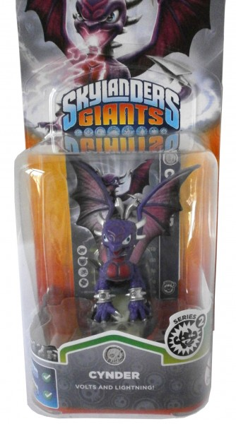 Cynder Series 2 Skylanders Giants Single Pack