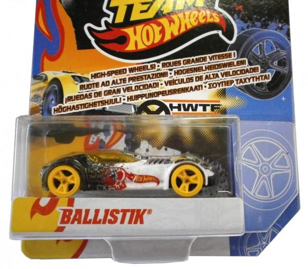 """Hot Wheels, Team 1:64 High Speed Wheels, """"BALLISTIK"""""""