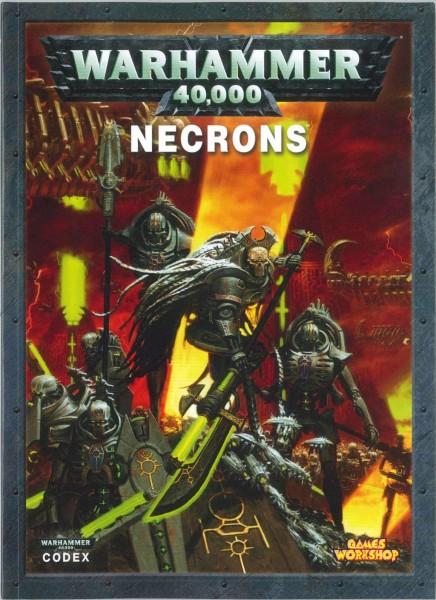 """Codex """"Necrons"""", WARHAMMER 40.000"""