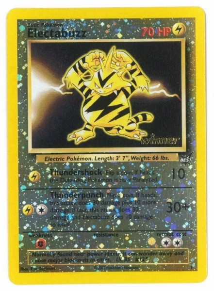 Electabuzz (Best of Game) (Winner Cards)