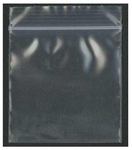 1000 Zip-Bags 40 x 40mm, clear, Schnellverschlußbeutel