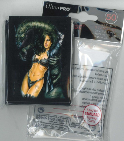 Deck Protector Sleeves Dragon Lady Ultra Pro, Standardgröße