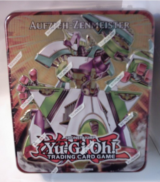 "Yu-Gi-Oh! Tin-Box 2011 Wave 1 ""Aufzieh-Zenmeister"""