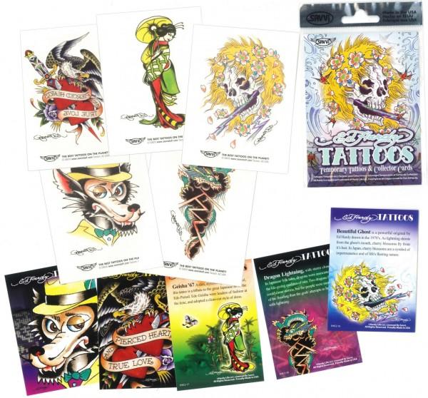 Ed Hardy Tattoos