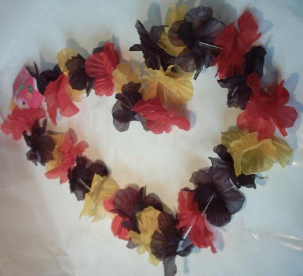 Deutschland (Hawaii) Blüten-Kette