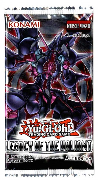 Legacy of the Valiant Booster, deutsch, Yu-Gi-Oh!