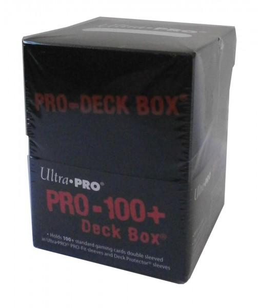 Deck Box PRO-100+, schwarz, Ultra Pro, neue EAN