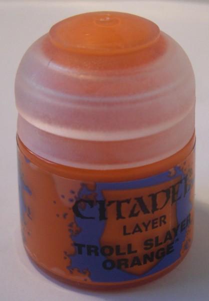 """Citadel Layer """"Troll Slayer Orange"""" Games Workshop 22-03"""
