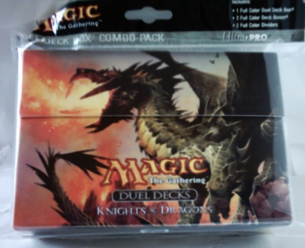 MAGIC Duel Deck-Box Knights vs. Dragons