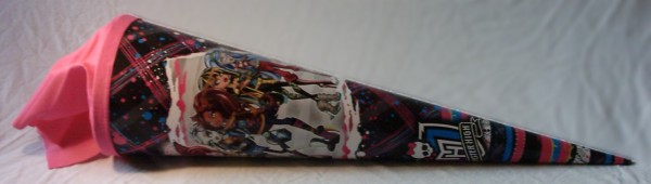 Monster High Zuckertüte/ Schultüte 70cm