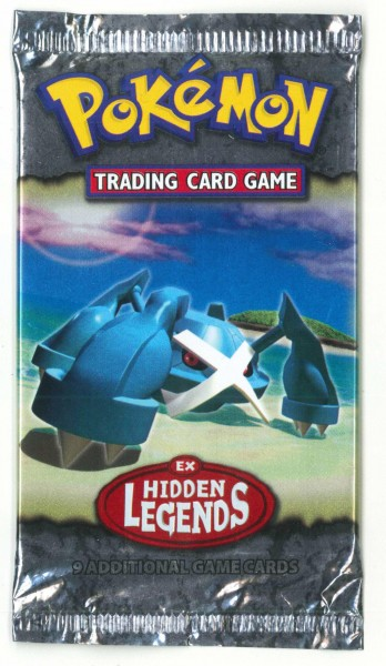 "Pokémon Booster""Ex Hidden Legends"""
