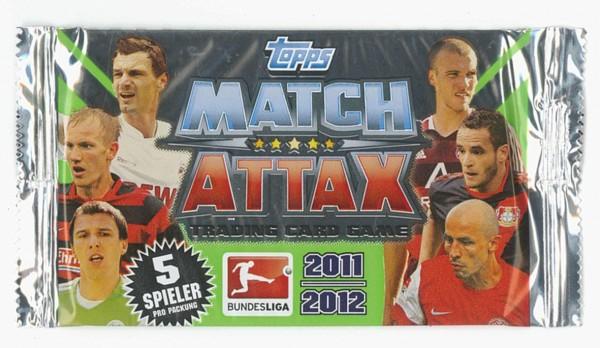 topps MATCH ATTAX 2011/2012