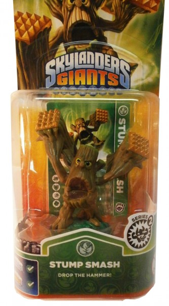 Stump Smash Series 2 Skylanders Giants Single Pack