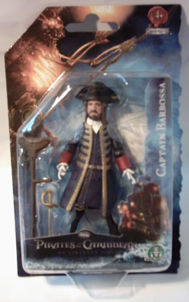 Pirates Captain Barbossa, Figur 10 cm
