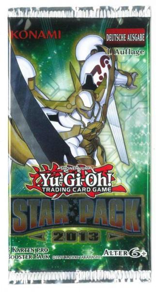 STAR PACK 2013, Booster Yu-Gi-Oh!, deutsch, unlimitiert
