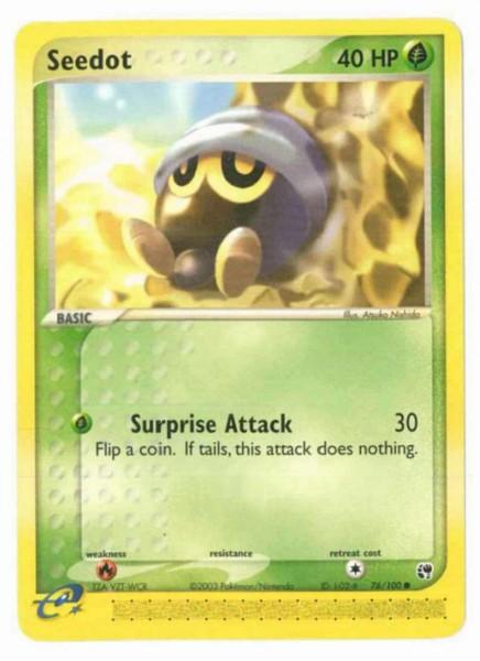Seedot (Surprise Attack) (EX Sandstorm), Common