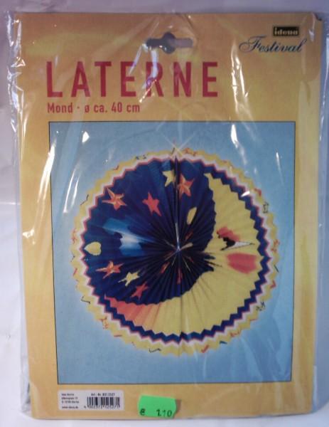 Laterne Mond Lampion, 40cm