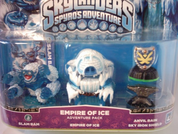 Empire of Ice Skylanders Adventure Pack, Spyro's Adventure