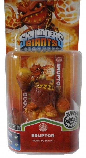 Eruptor Series 2 Skylanders Giants Single Pack