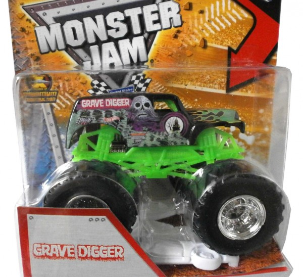 "Hot Wheels Monster Jam ""Grave Digger"""