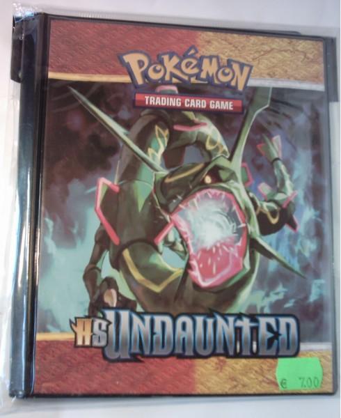 4 Pocket Portfolio Pokémon HS Unerschrocken, Ultra Pro