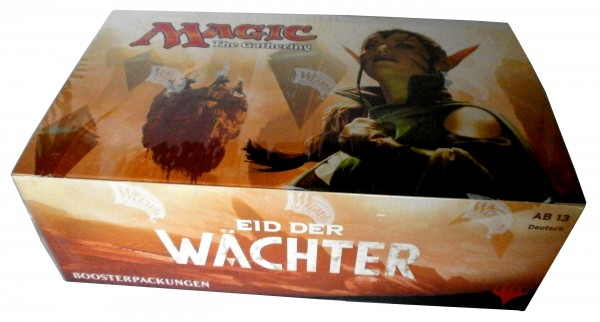 "Display ""Eid der Wächter"" Booster, MAGIC the Gathering, deutsch,"