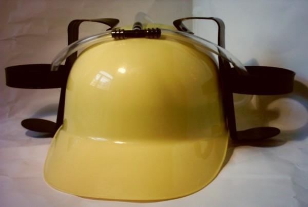 Trinker-Helm gelb