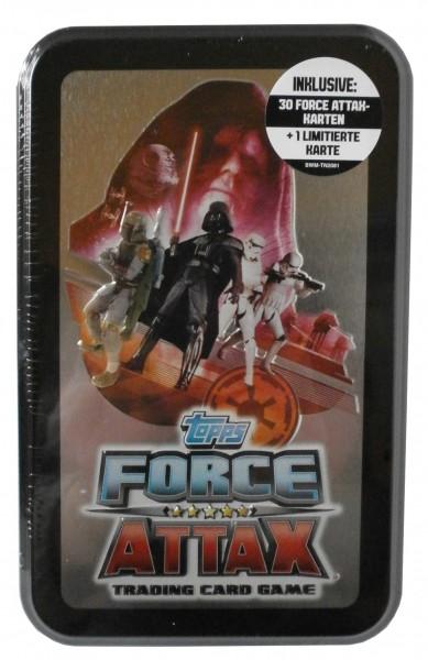 STAR WARS FORCE ATTAX Tin, Movie Serie 2