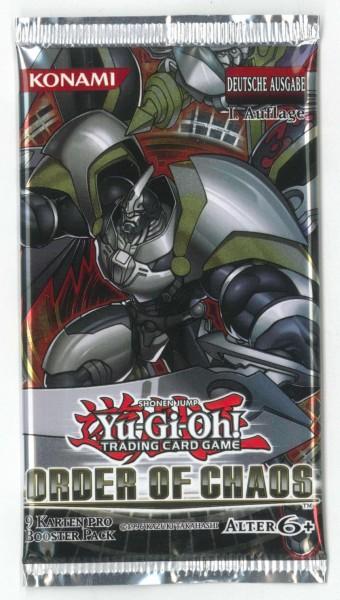 """""""Order of Chaos"""" Booster, deutsch,1. Auflage Yu-Gi-Oh!"""
