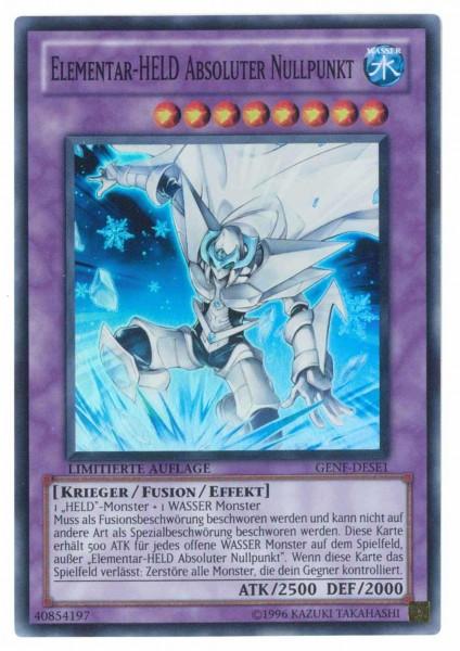 Elementar-Held Absoluter Nullpunkt, GENF-DESE1, Yu-Gi-Oh!-Einzel